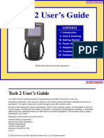 GM Tech2 Diagnostic Scanner Users Manual
