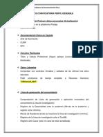 Requisitos Convocatoria Perfil Deseable 2018
