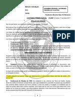 Derecho Mercantil II, Noveno Semestre, Primer Parcial Sección d, Contenido y Cuestionario.