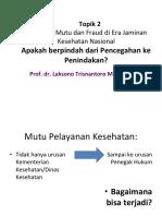 15 Fraud Mutu Laksono 2017