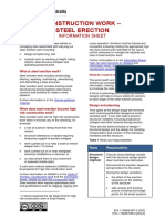 Construction Information Sheets Steel Erection