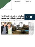 600.000$ de choza de La Chacón. ¿crisis que crisis?