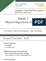 AlgoCompNRTS - Week 1 Lecture Notes