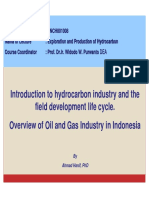Intro HC, Field Life Cycle and Indonesian Industry