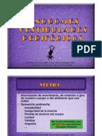 Sindromes vestibulares periféricos