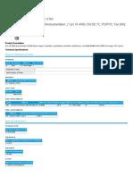 Technical Datasheet Belden 9760
