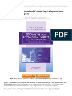 3D CADASTRE IN AN INTERNATIONAL CONTEXT LEGAL ORGANIZATIONAL AND TECHNOLOGICAL ASPECTS