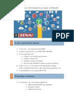 Técnico Em Informática Para Internet(Folder Explicativo)