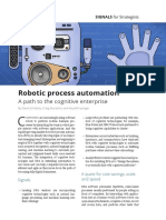 DUP Signals Robotic Process Automation