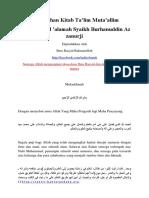 Terjemahan Kitab Talim Mutaalim.docx