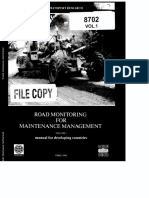 OCDE Road Monitoring Vol1 Manual