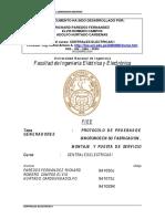 190163358 Protocolo de Pruebas de Los Generadores S Ncronos 1 PDF