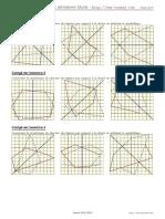 Symetrie Quadrillage 1 Corrige