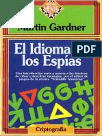 Gardner Martin - El Idioma de Los Espias