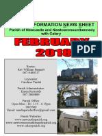 February 2018 News