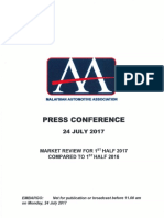 MAA Market Review Half 2017