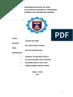 Sector Contrucción - Gestion Pymes