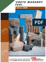 Concrete Masonry Manual