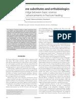 Bone grafts, bone substitutes and orthobiologics.pdf
