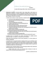 Normas De Relatório Da Visita de Estudo à EDA (estação produtora de eletricidade - Açores)