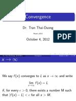 CI 3 Convergence