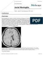 Imaging in Bacterial Meningitis