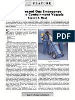 Compressed Gas Emergency Response Containment Vessels