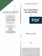 16536720 Castoriadis C Les Car Ref Ours Du Labyrinthe 1978