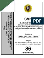 Pra Ujian Nasional Bahasa Indonesia Smk Kode b 86
