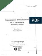 1-473 - Feldman Palamidessi Programación de la enseñanza en la universidad