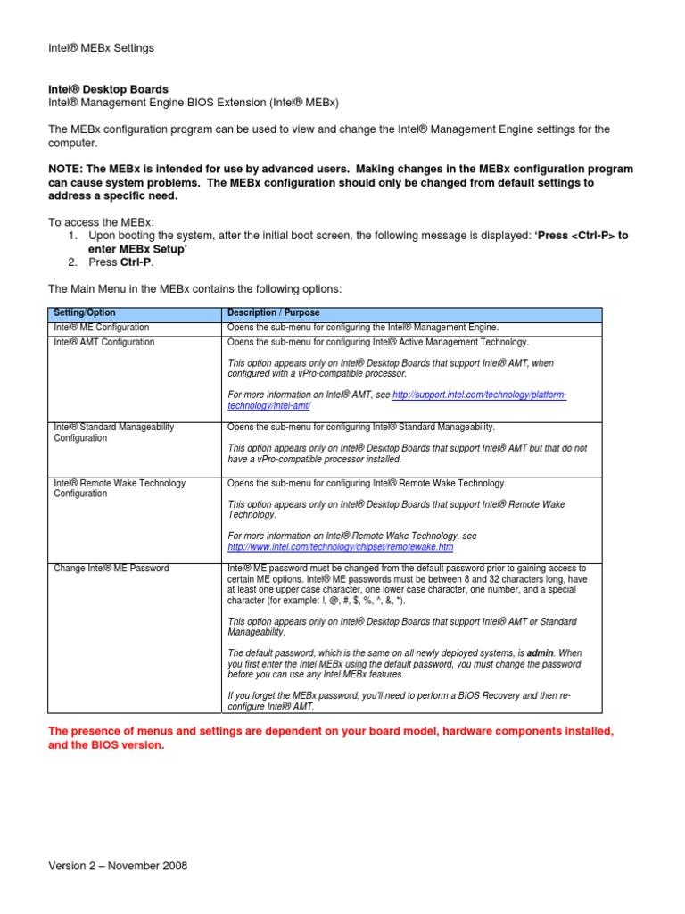 intelmebxsettings_v02   Ip Address   Data Transmission