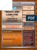 Rights and Liabilities of Vendors and Purchasers - Power Solutions Training Management.