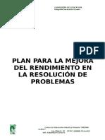 Plan Mejora Resolución Problemas
