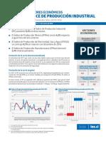 Boletín Sectores Económicos Índice de Producción Industrial (IPI) Diciembre 2017