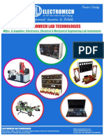 Electromech Lab Technologies Catalog