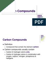 1. Carbon Compounds