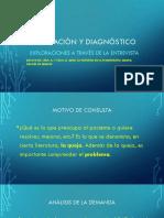 Evaluación y Diagnóstico