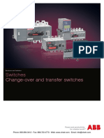 ABB Automatic Transfer Switches
