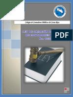 Ley de Creación Del Colegio de Contadores Públicos de Costa Rica Nº 1038