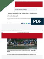 Tres Turistas Españolas, Robadas y Violadas en El Sur de Senegal