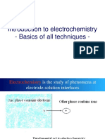 Basics of Electrochemistry