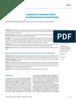 Diseño y desarrollo de escenarios de simulacion clinica