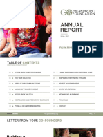 GoPhilanthropic Foundation • 2016-2017 Annual Report