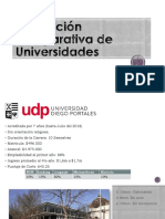 Evaluacion Comparativa de Universidades