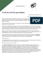 A arte de escrever para idiotas.pdf