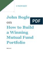 John Bogle How to Build a Winning MF Portfolio Unovest eBook