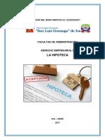 Hipoteca en Perú