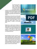 Windows Vista Es Una Versión de Microsoft Windows
