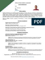 CV Ing Porfirio Romero