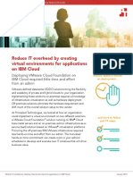 Reduce IT overhead by creating virtual environments for applications on IBM Cloud